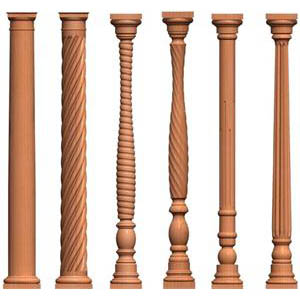 Columns for Decorative wood columns interior