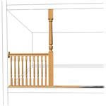Turned 8' Posts & Divider Spindles