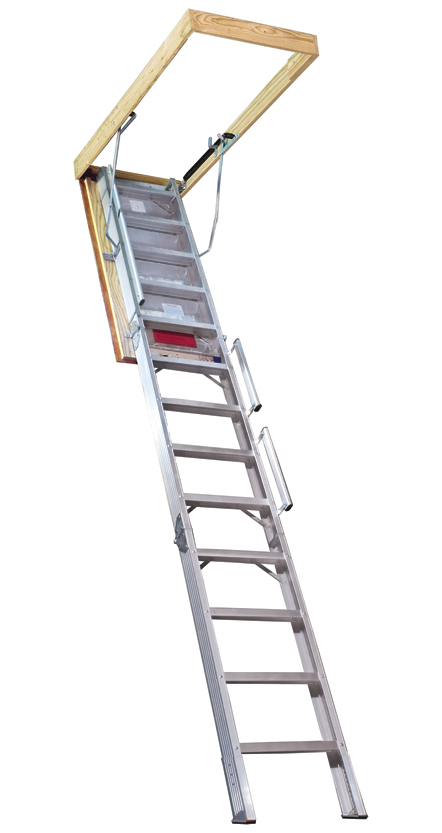 Folding Attic Stair For 12 Heights