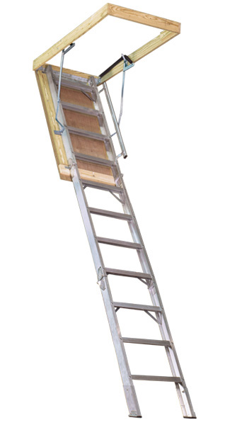 Folding Attic Stair For 8 9 Quot 10 Ceiling Heights