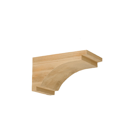 Cor7x13x7s fypon timber corbel for Fypon wood beams