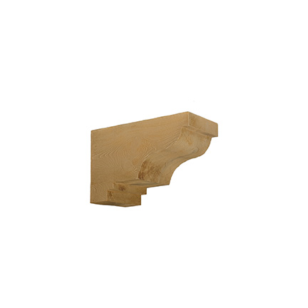 Fypon woodgrain corbel cor16x10x8s for Fypon beams