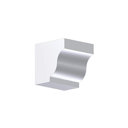 Fypon dentil block 4x4x4 for Fypon dentil molding