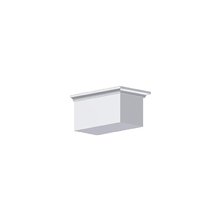 Fypon dentil block 5x6x10 for Fypon dentil molding