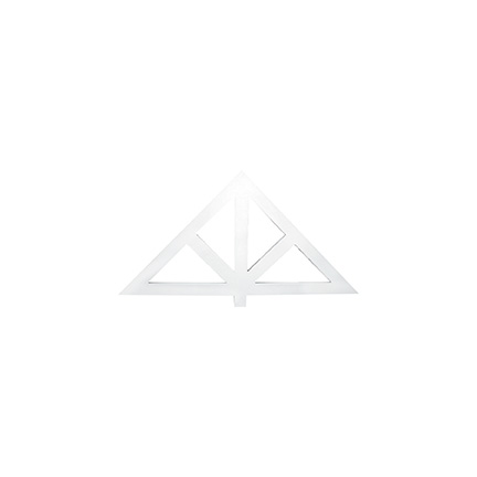 Fypon gable pediment flat style for Fypon gable pediments