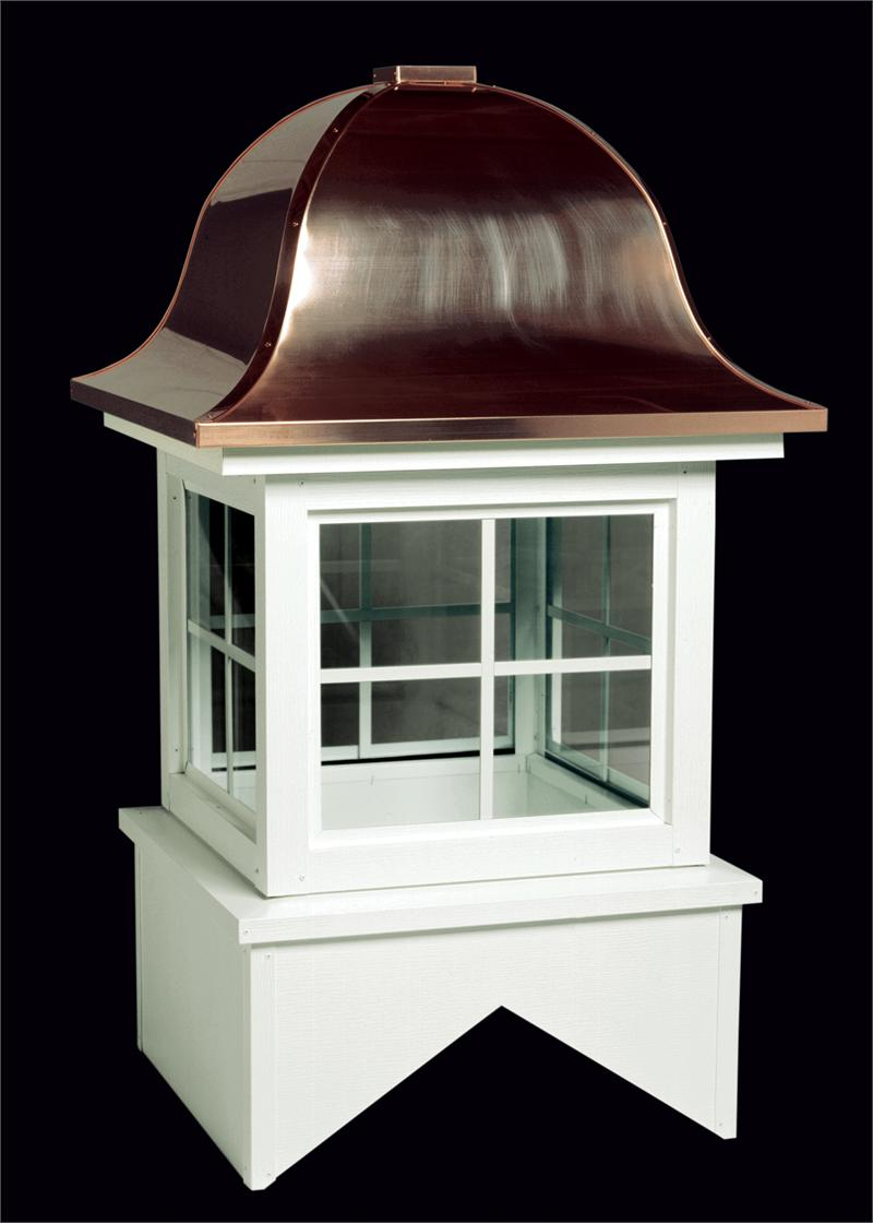 Vermont Aluminum Glass Cupola With Copper Roof