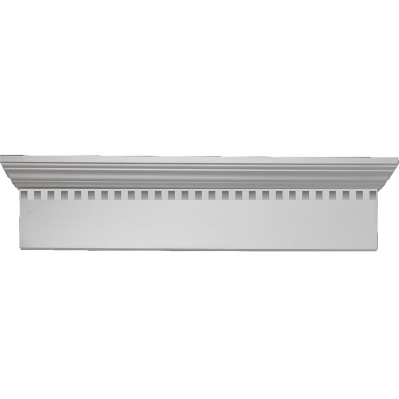 Fypon 9 crossheads with dentil trim Fypon molding