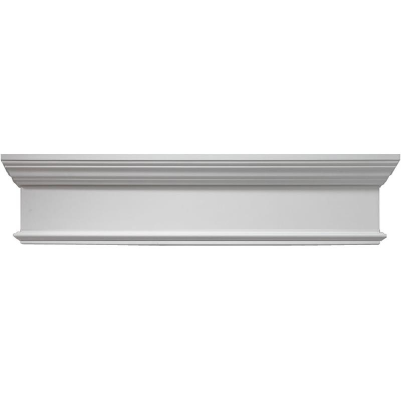 Fypon 9 crossheads with trim strip wchx9t for Fypon window pediments