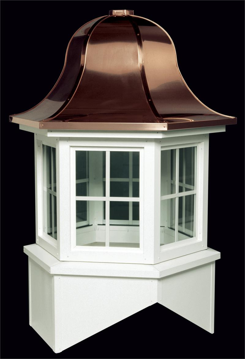 York Aluminum Glass Cupola With Copper Roof