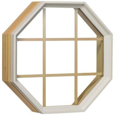 Fixed 24 Quot Octagon White Clad Exterior