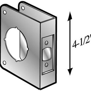 Door Reinforcer Amp 8 S Cw Don Jo Wrap Around Plate Door