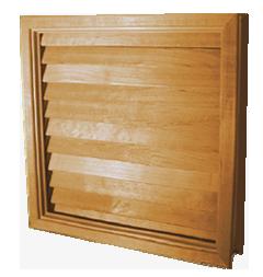 Door Louver Inserts: Custom Flat Slat